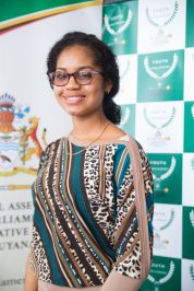 Kezia Albert, Youth Minister of Business