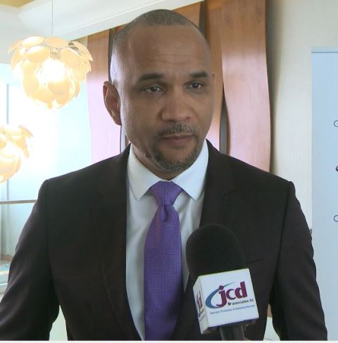 Chief Executive Officer (CEO) of Caribbean Airlines, Garvin Medera.