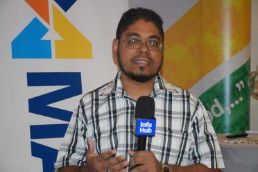 Director of Massy Technologies Guyana, Jason Sahai