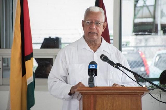 Minister of Agriculture Noel Holder.
