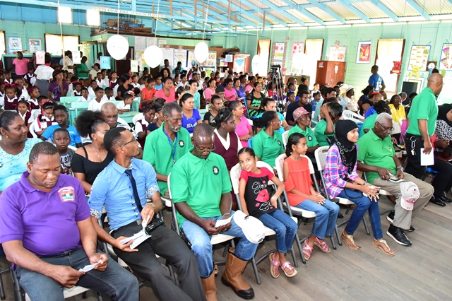 Residents of Sisters Village, East Bank Berbice gathered at the Friends Primary School this afternoon for a community meeting.