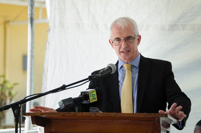 Acting British High Commissioner, Ray Davidson.