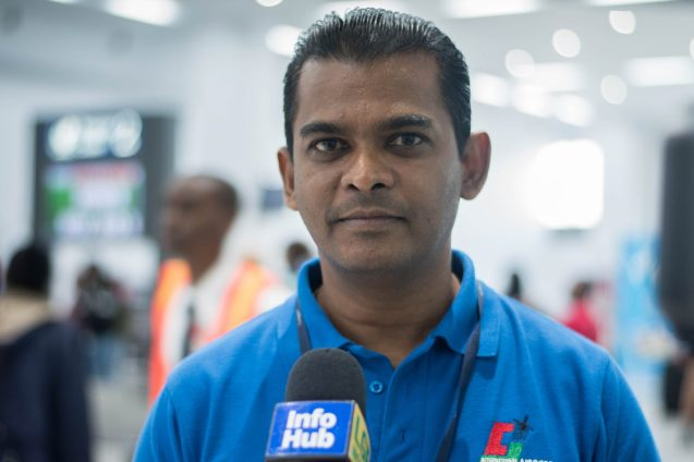 Chief Executive Officer of Cheddi Jagan International Airport (CJIA), Ramesh Ghir