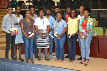 Participants who were awarded scholarships by Global Technology
