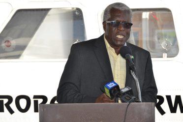 Director General of the Guyana Civil Aviation Authority (GCAA), Lt. Col (Ret'd) Egbert Field