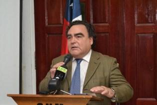 Chilean Ambassador to Guyana, Claudio Rojas.