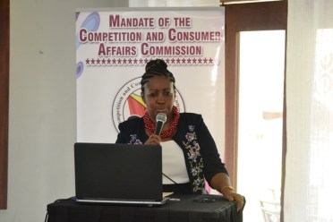 Director of the Competition and Consumer Affairs Commission (CCAC), Dawn Cush.