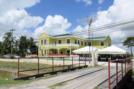 The newly constructed Education Complex, Vreed-en-hoop, Region Three, Essequibo Islands-West Demerara.