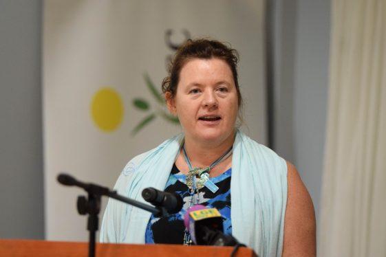 UNICEF Resident Representative, Sylvie Fouet