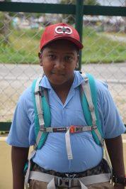 Grade six Student of St. John's the Baptist Primary School, Simeon Sears.