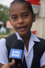 Grade Four Student of St. John's the Baptist Primary School, Jamela Smith.