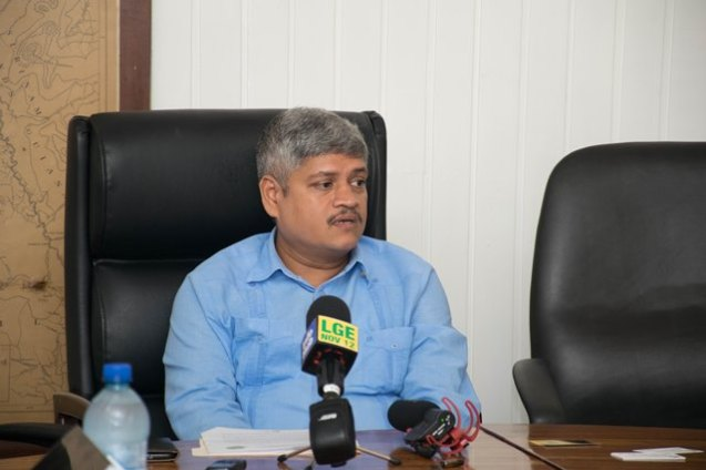 Minister within the Ministry of Finance, Jaipaul Sharma.