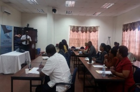 Participants During the TIP One -Day Training Course.