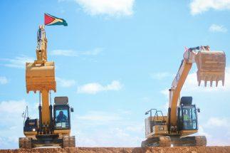 The Caterpillar (CAT) 320 hydraulic excavator