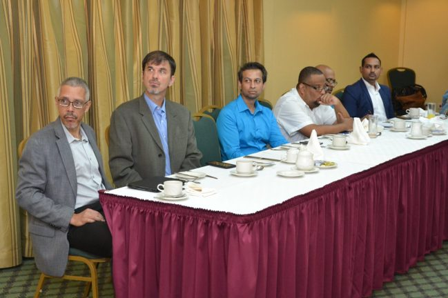 Roundtable discussion with local media at Cara Lodge
