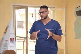 Dr. Vishal Ramjas, Medical Superintendent, Mabaruma Regional Hospital