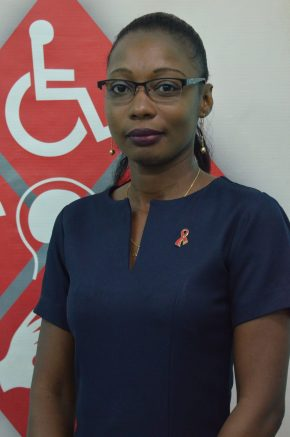 Avonel Corrica, Communications Officer, National Commission on Disability