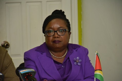 Deputy Chief Election Officer of the Guyana Elections Commission (GECOM), Roxanne Myers.