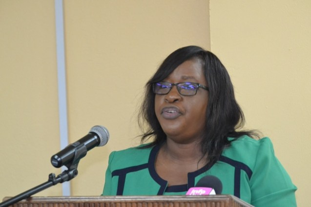 Minister within the ministry of Public Health, Dr. Karen Cummings.