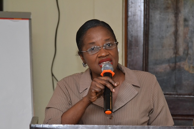 Dr. Kay Shako, Director, Regional and Clinical Services, Ministry of Public Health.