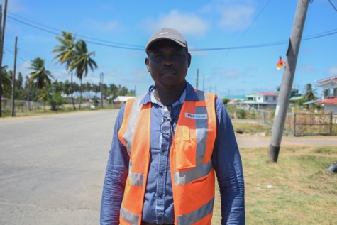 Manager of Traffic/Safety/Maintenance, Ministry of Public Infrastructure, Kester Hinds.