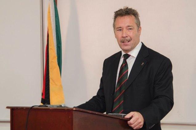 Advisor to the Special Organised Crime Unit (SOCU), Dr. Sam Sittlington.