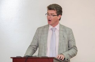 British High Commissioner to Guyana, Gregory Quinn.
