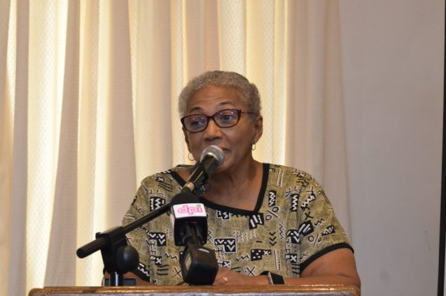 Chairperson of the National Commission on Disability, Evelyn Hamilton