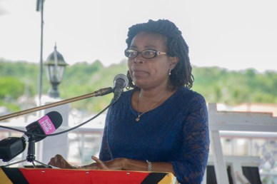 Department of Social Cohesion Programme Coordinator, Sharon Patterson.