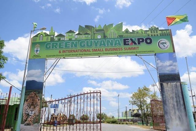 The Green Guyana Expo will be held at the National Stadium Tarmac, Providence, East Bank Demerara from October 18-20.
