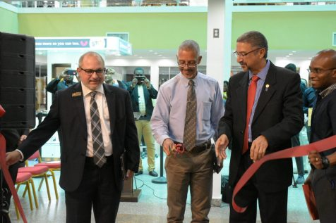 The Ashley Homestore was officially opened today in the Giftland Mall