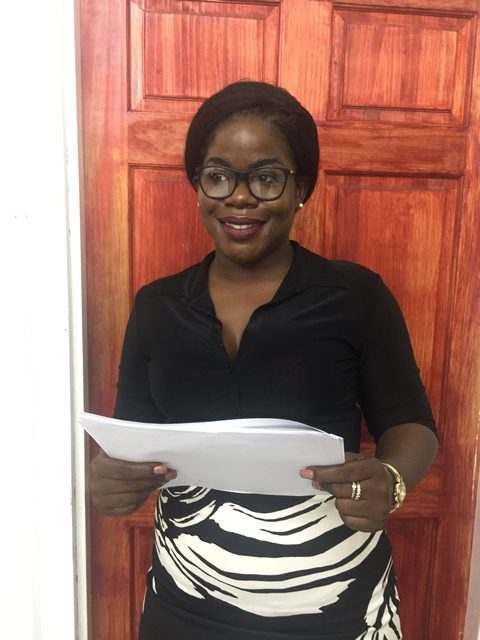 Attorney-at-Law and Legal Officer at the Ministry of Communities, Suzanne Bullen.