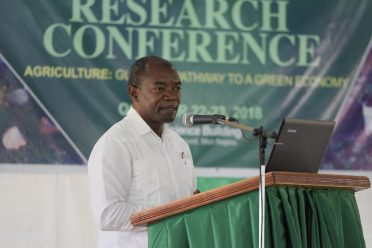 Chairman of the Board of Directors of NAREI, Dr. Patrick Chesney