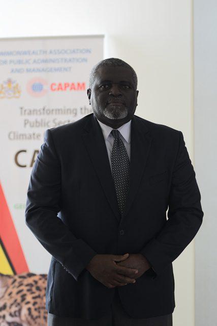 Executive Director, Caribbean Centre For Development Administration, Devon Rowe.