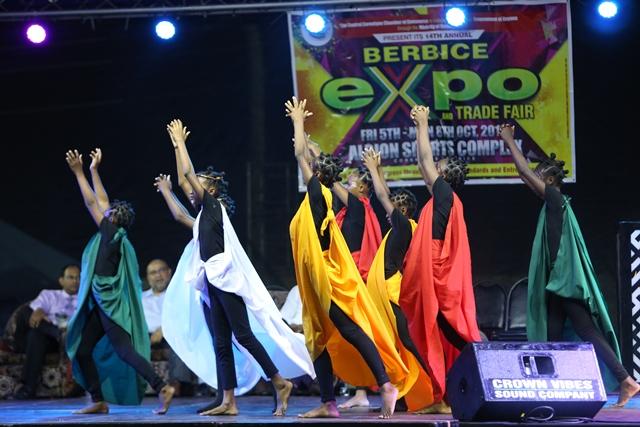 A cultural performance.