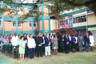 The gathering at the 42nd Anniversary of the Cubana Air Tragedy