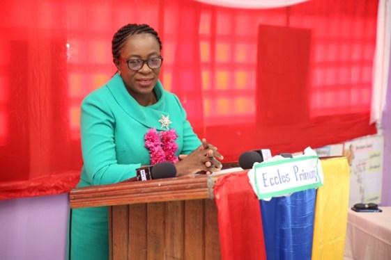 Minister of Education, Nicolette Henry.