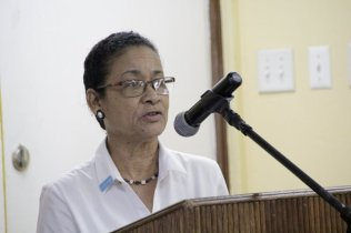 UNICEF Education Specialist, Ms. Audrey Rodrigues.