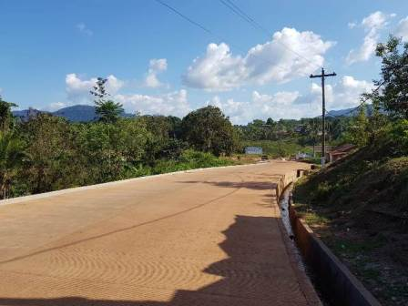One of the upgraded roads in the Mahdai townships (feature image).