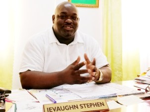 Director of Regional Health Services Region Six, Jevaughn Andrew Stephen.