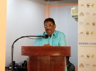 Regional Chairman of Region Six (East Berbice-Corentyne), David Armagon
