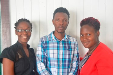 Executive Members of the Kinetic Youth Movement of New Amsterdam.