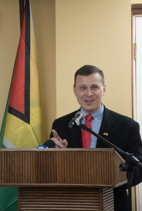 US Deputy Chief of Mission, Terry Steers-Gonzalez