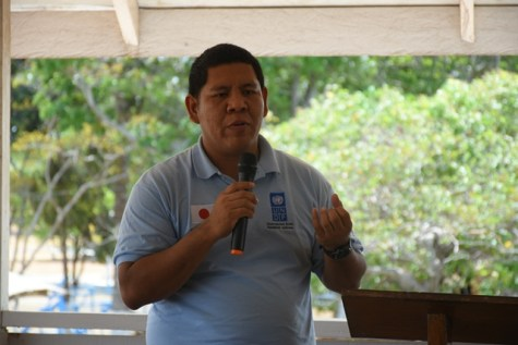 Disaster Risk Management Project Manager of UNDP, Jason Chacon.