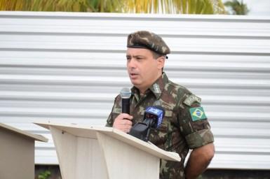 Lieutenant Colonel, 2nd Engineering Group, Brazilian Army, Vandir Pereira Soarey Junior.