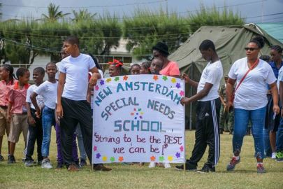 Some of the Special Schools during their March Pass.