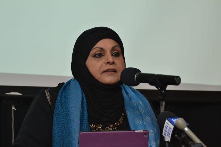 Chairperson of the Rights of the Child Commission (RCC), Aleema Nasir