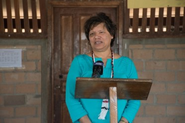 Canadian High Commissioner to Guyana, Lilian Chatterjee.