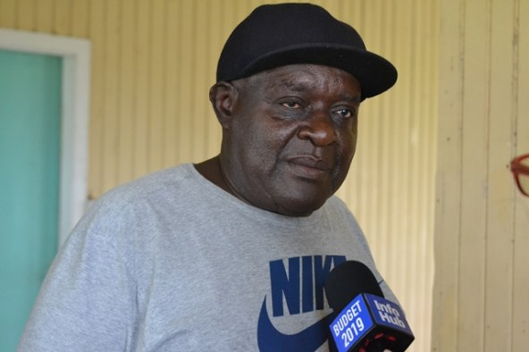 Clifton Nedd, a retrenched worker.