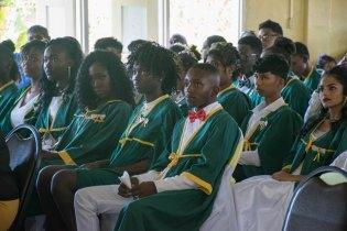 Graduates of the Corentyne Comprehensive High School, Class of 2018.
